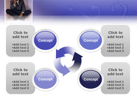 Thinking PowerPoint Template Slide 9