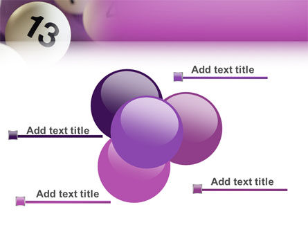 Lotto Balls PowerPoint Template Slide 10