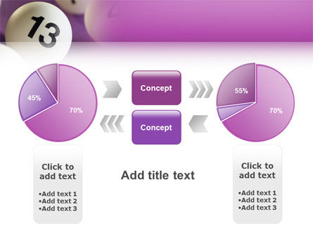 Lotto Balls PowerPoint Template Slide 11
