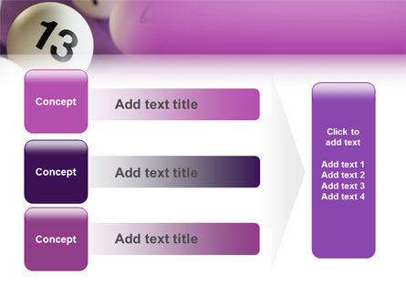 Lotto Balls PowerPoint Template Slide 12