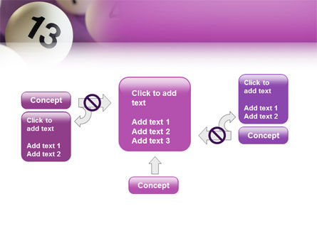 Lotto Balls PowerPoint Template Slide 13