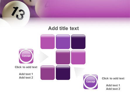 Lotto Balls PowerPoint Template Slide 16