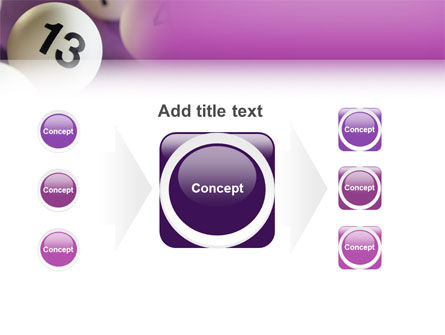 Lotto Balls PowerPoint Template Slide 17