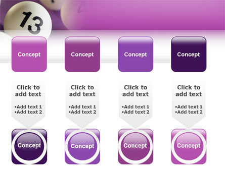 Lotto Balls PowerPoint Template Slide 18