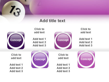 Lotto Balls PowerPoint Template Slide 19