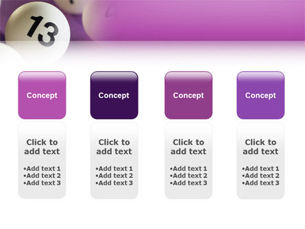 Lotto Balls PowerPoint Template Slide 5
