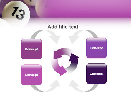 Lotto Balls PowerPoint Template Slide 6