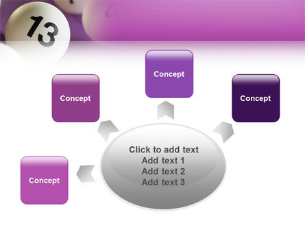 Lotto Balls PowerPoint Template Slide 7