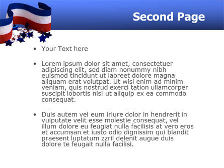 Federal Colors PowerPoint Template Slide 2
