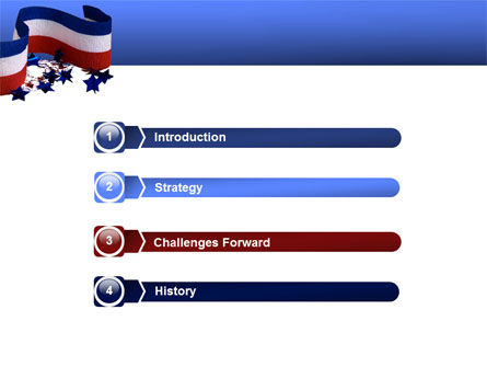 Federal Colors PowerPoint Template Slide 3