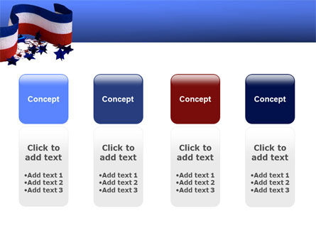 Federal Colors PowerPoint Template Slide 5