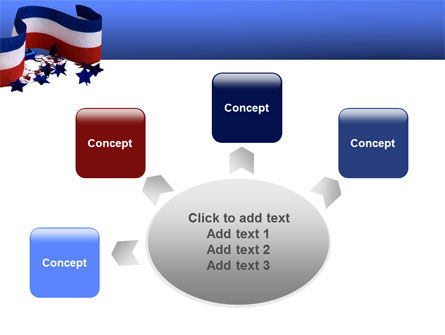 Federal Colors PowerPoint Template Slide 7