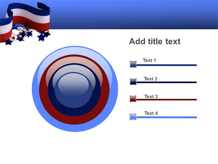 Federal Colors PowerPoint Template Slide 9