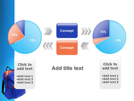 School Backpack PowerPoint Template Slide 11
