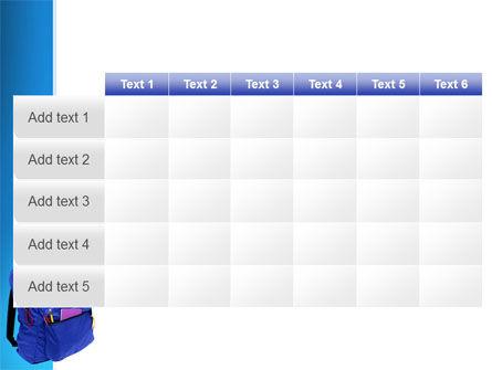 School Backpack PowerPoint Template Slide 15