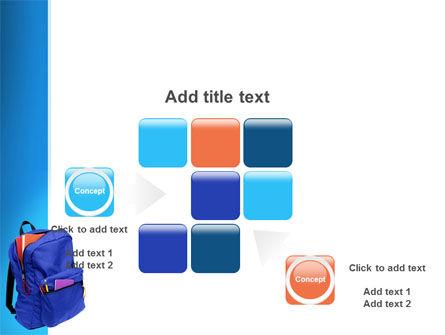School Backpack PowerPoint Template Slide 16