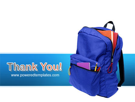 School Backpack PowerPoint Template Slide 20