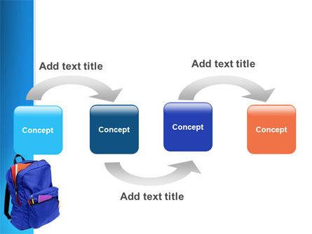 School Backpack PowerPoint Template Slide 4