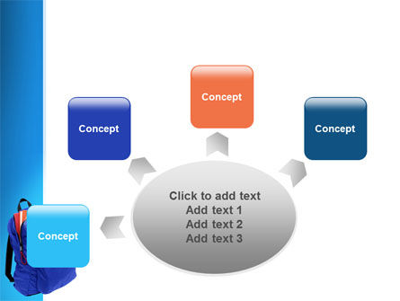 School Backpack PowerPoint Template Slide 7