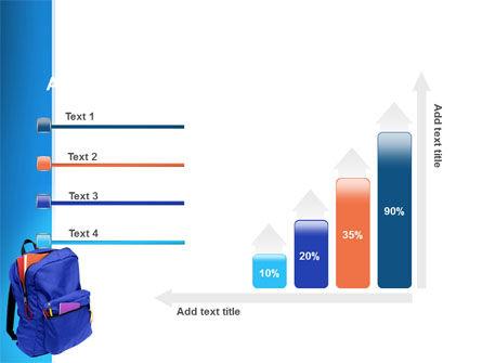 School Backpack PowerPoint Template Slide 8