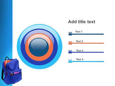 School Backpack PowerPoint Template Slide 9