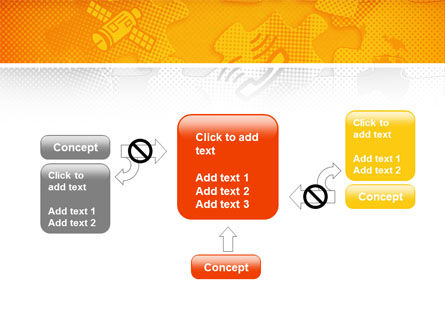 Communication Technology PowerPoint Template Slide 13