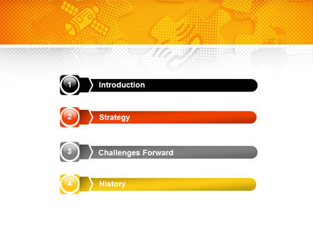 Communication Technology PowerPoint Template, Slide 3, 02578, Global — PoweredTemplate.com