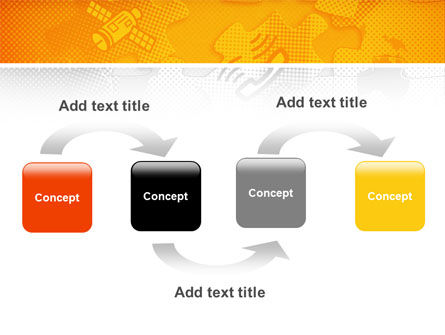 Communication Technology PowerPoint Template, Slide 4, 02578, Global — PoweredTemplate.com