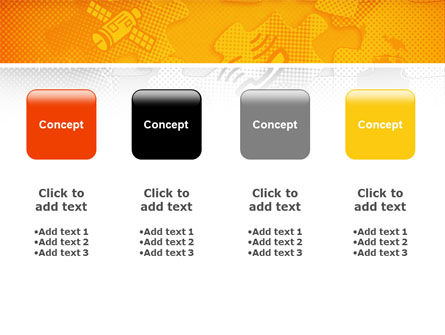 Communication Technology PowerPoint Template Slide 5