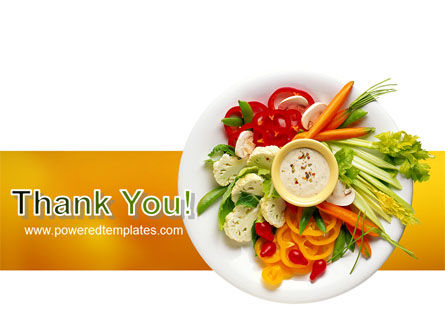 Vegetarian Food PowerPoint Template Slide 20