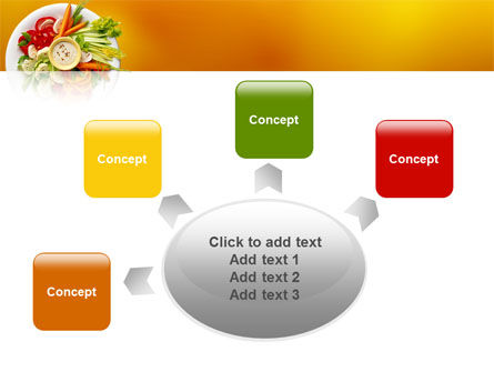 Vegetarian Food PowerPoint Template Slide 7