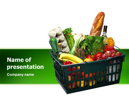 Market Basket PowerPoint Template