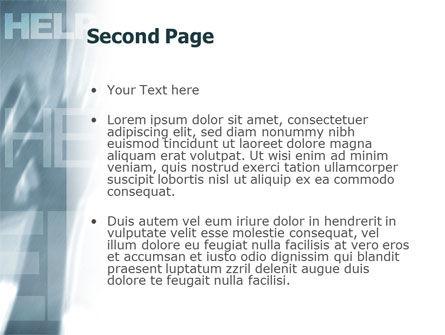 Help PowerPoint Template, Slide 2, 02584, Religious/Spiritual — PoweredTemplate.com