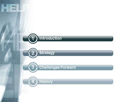 Help PowerPoint Template, Slide 3, 02584, Religious/Spiritual — PoweredTemplate.com