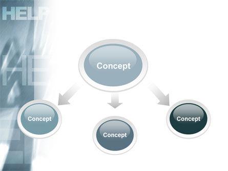 Help PowerPoint Template, Slide 4, 02584, Religious/Spiritual — PoweredTemplate.com