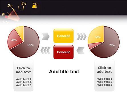 Fuel Gage PowerPoint Template Slide 11