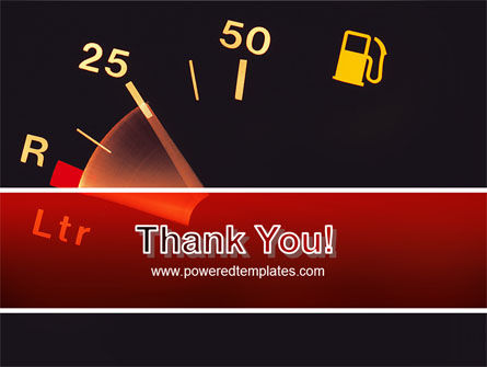 Fuel Gage PowerPoint Template Slide 20