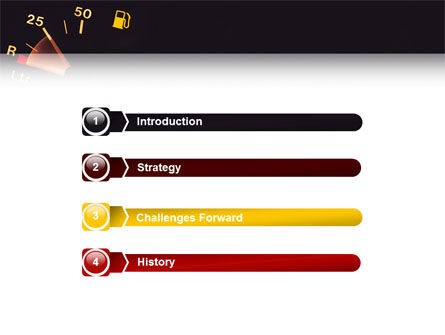 Fuel Gage PowerPoint Template, Slide 3, 02585, Careers/Industry — PoweredTemplate.com