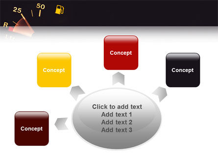 Fuel Gage PowerPoint Template Slide 7