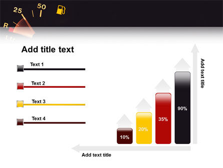 Fuel Gage PowerPoint Template Slide 8