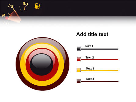 Fuel Gage PowerPoint Template Slide 9