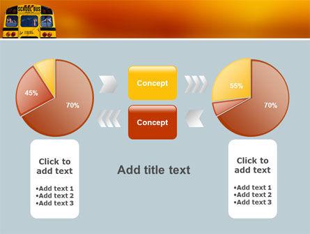 School Bus Aft PowerPoint Template Slide 11
