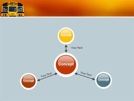 School Bus Aft PowerPoint Template Slide 14