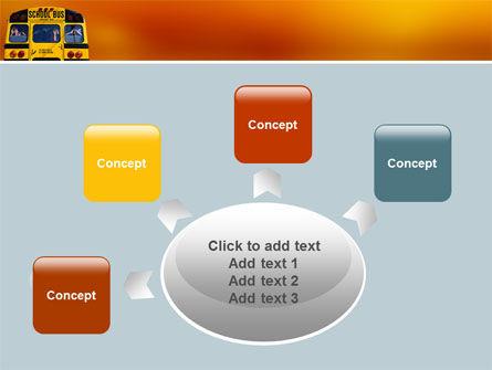 School Bus Aft PowerPoint Template Slide 7