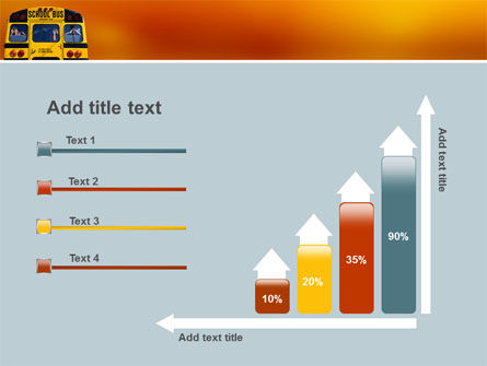 School Bus Aft PowerPoint Template Slide 8