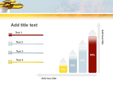 Fire In The Forest PowerPoint Template Slide 8