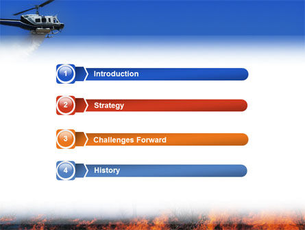 Wildfire PowerPoint Template Slide 3