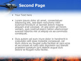 Wildfire PowerPoint Template#2