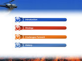 Wildfire PowerPoint Template#3