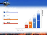 Wildfire PowerPoint Template#8